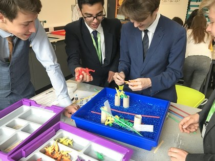 STEM students practise their skills