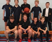 KS3 basketball team photo