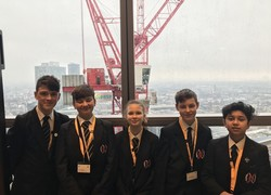 Lego engineers in UK competition final