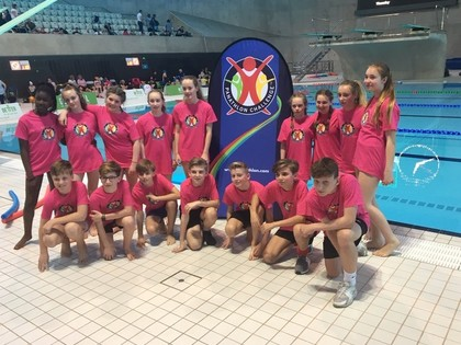 Young sport leaders assist at Olympic Park