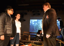 Year 8 Tech Team Lead on Production
