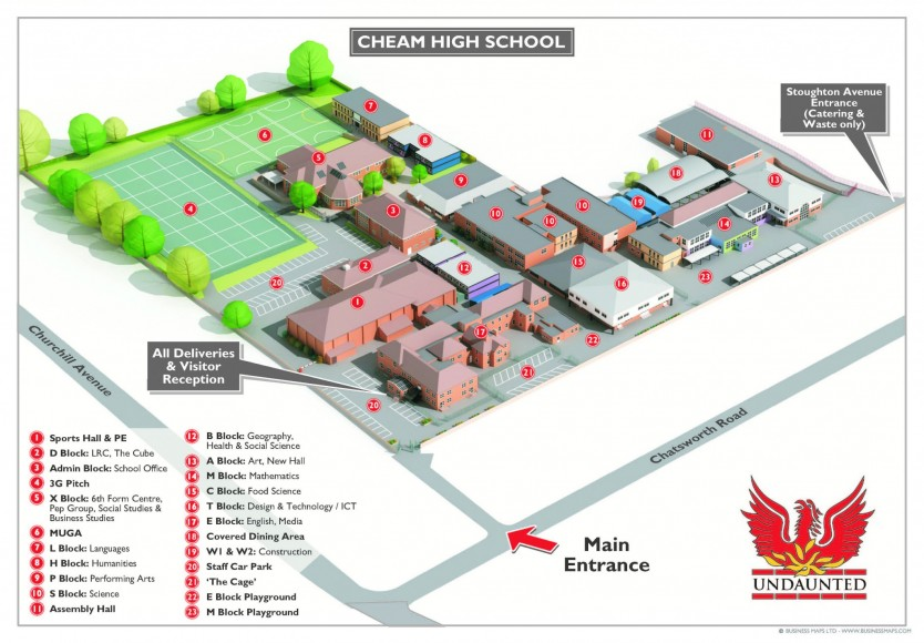 Cheam High School 3D (002)