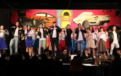 Grease at Cheam High School