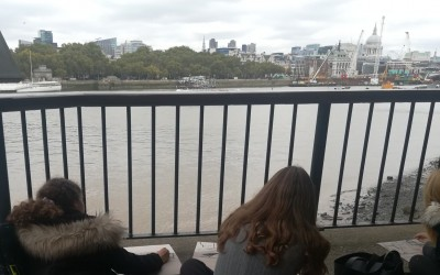 Year 12 Art Trip to the Southbank