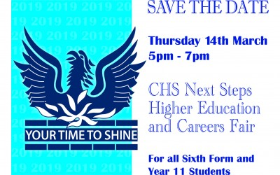 Next Steps - higher education and careers fair