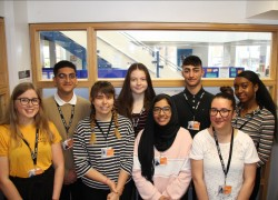 New Sixth Form Student Head Team