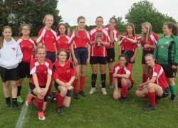 U16 Girls Football Sutton Cup Final