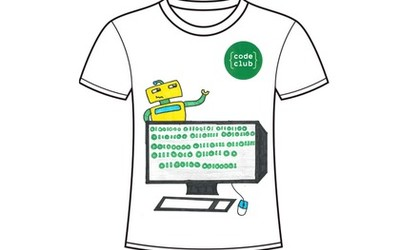 Raspberry Pi Code Club T-Shirt Design Competition