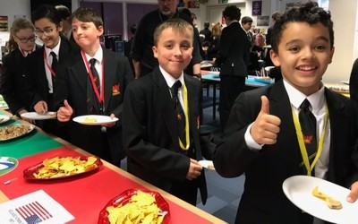 LRC's Years 7 and 8 Eat Your Way Around the Rugby World Cup