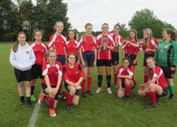 U16 Girls Football winners (2)