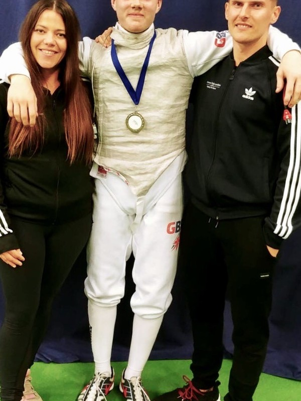 Raffi Pollitt - 5th out of 170 fencers!