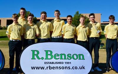 Junior Team Golf Championship Success!