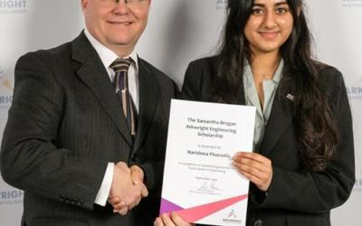 A Year 12 student at CGS has been awarded a prestigious national award
