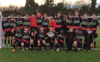 U14 Boys win Bucks Plate Final