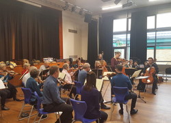 Nonsuch Orchestra visit Christ's School