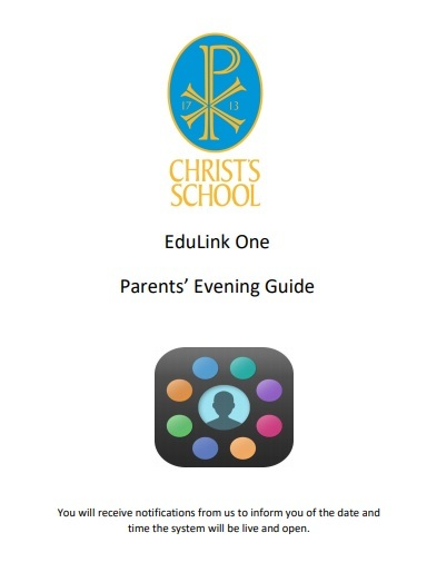 Parents evening guide