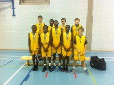 Year 7 basketball boys