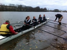 Girls rowing 4
