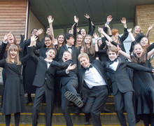 Christs school choir new york trip fun pic low res