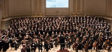 Christs choir in carnegie hall