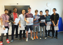 Christ's Celebrates GCSE Exam Success