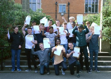 students-celebrate-excellent-gcse-results