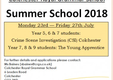 crgs-summer-school-courses-2018-places-still-available