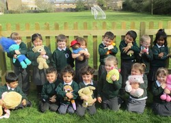 Teddy bear picnic for school topic