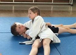 Free judo club for schoolchildren