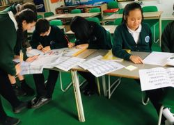Pupils judge peers' handwriting