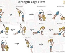Strength yoga flow