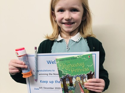 Monthly challenges boost reading, writing and maths skills
