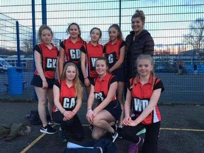 Year 8 Netball - March 2018