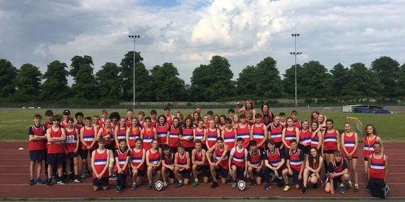 Senior District Athletics Championships - May 2018