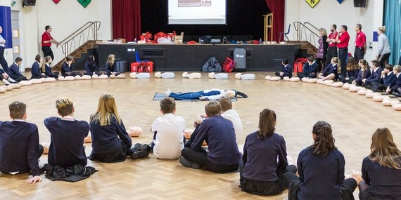 Year 9 Restart a Heart - October 2018