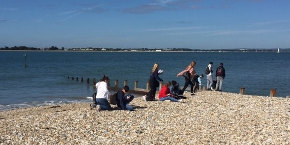 Year 11 Geography Field Trip to West Wittering - September 2019