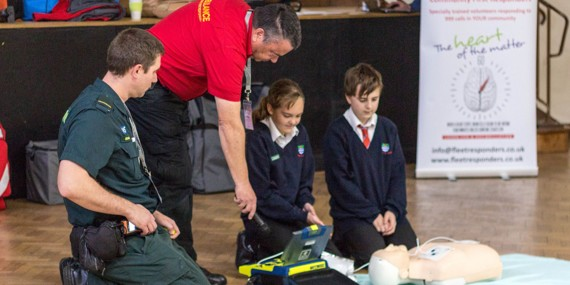 Year 9 Restart a Heart - October 2019