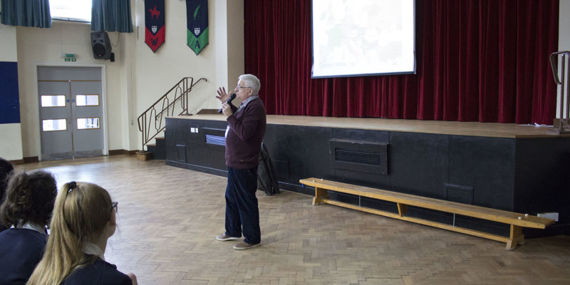 Year 10 Holocaust Survivor Visit