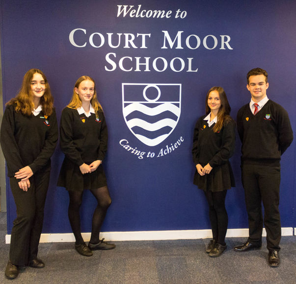 Head Students: Jasmine King, Ella Manning, Olivia Selby and Ryan May-Miller