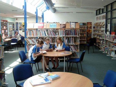 With your help we could win 5,000 pounds for our school Library