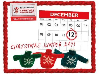 Save the Children Christmas Jumper Day 2016