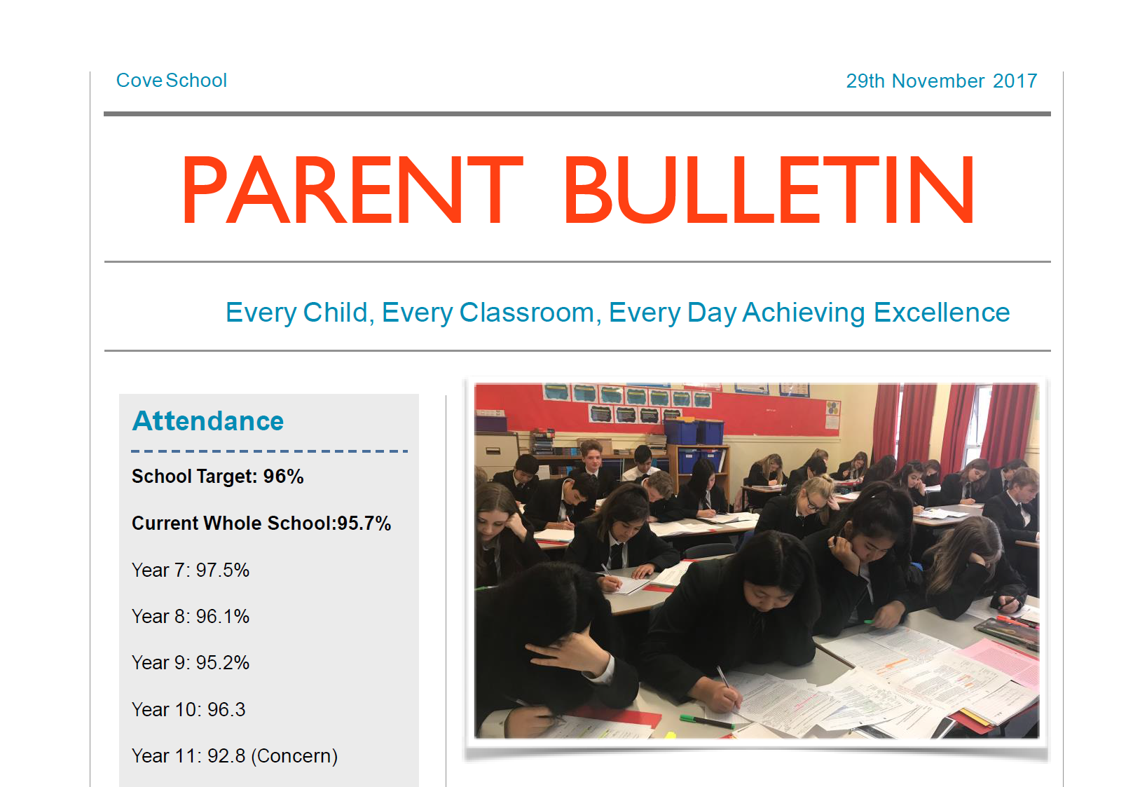 Parent new bulletin 2