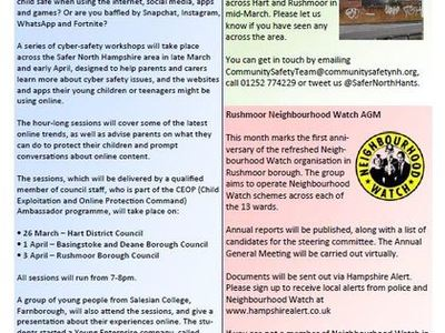 Safer North Hampshire - Community Safety News