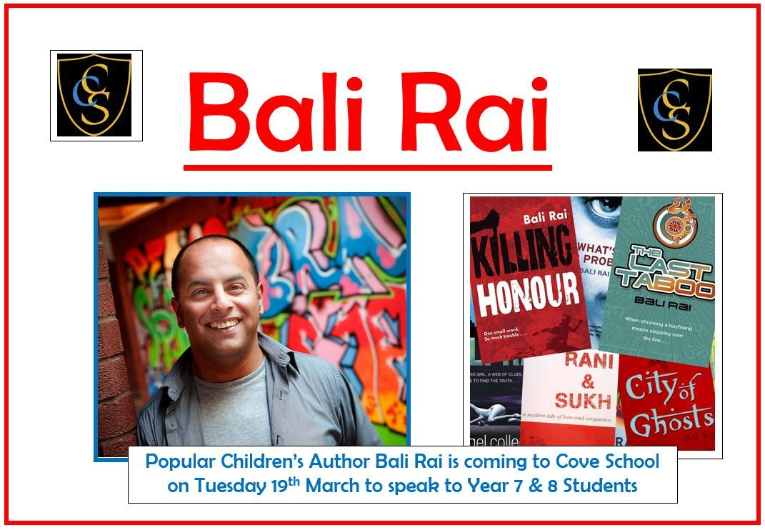 Bali Rai visit   19th March 2019