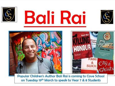 Author Bali Rai Visit - 19th March 2019