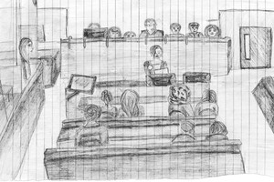 Court artist drawing1