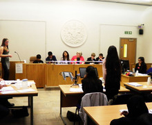Magistrates mock court tri