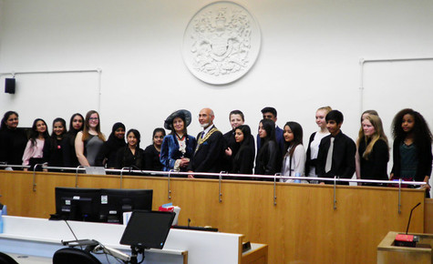 The verdict is in! Cressex pupils perform admirably in Magistrates' Court Mock Trial