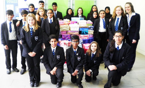 Cressex students help to change lives as part of Operation Christmas Child