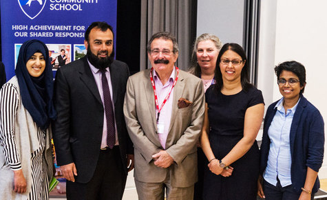 Professor Lord Robert Winston captivates Cressex Students